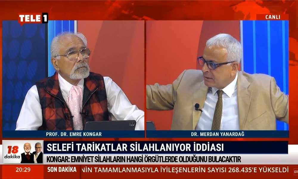 Merdan Yanardağ: AYM Başkanı'na ağzınıza geleni söylüyorsunuz, Adalet Bakanı Gül'ün sesi çıkmıyor