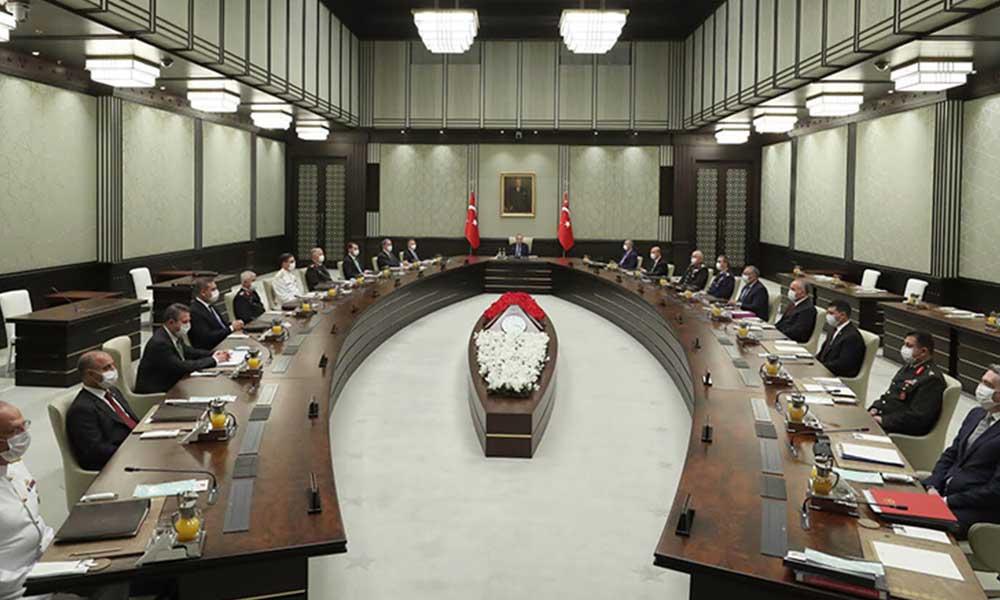 MGK toplantısının ardından Erdoğan'dan Doğu Akdeniz açıklaması: Taviz verilmeyecek