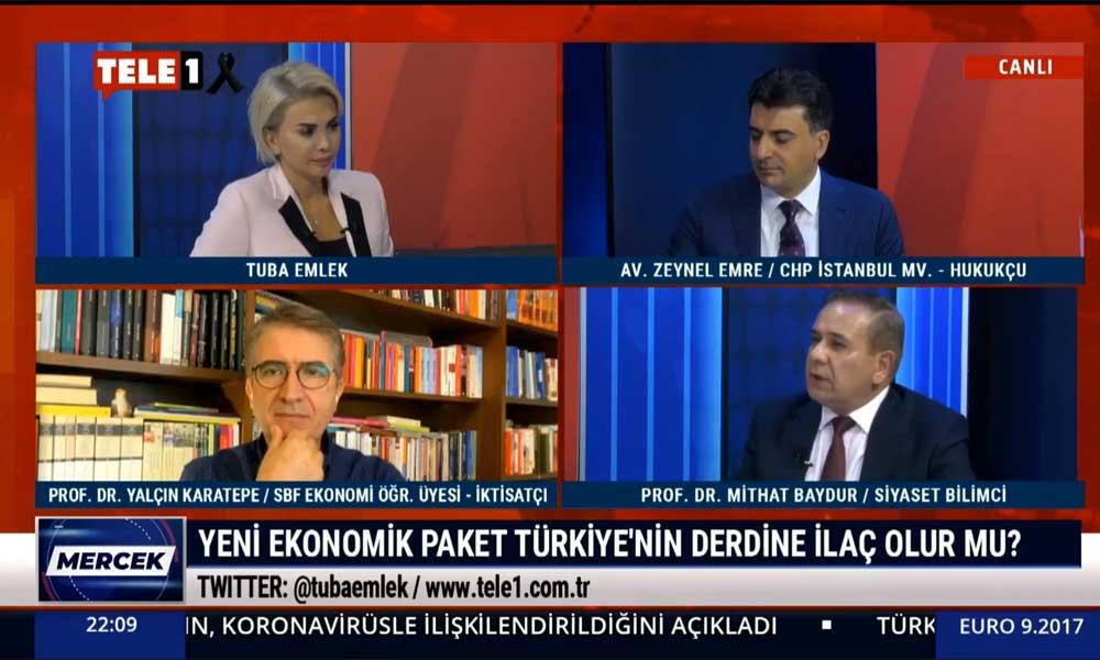 Mithat Baydur: Türk halkının 709 milyar lira borcu var bankalara, herkesi borçlandırdılar