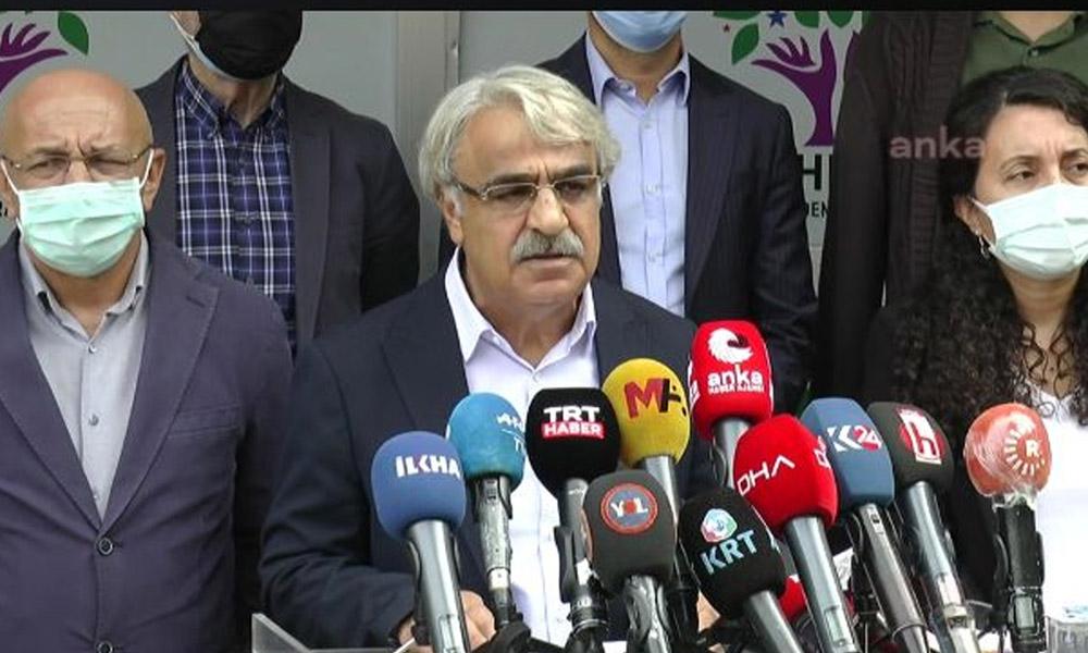 HDP Eş Genel Başkanı Sancar'dan gözaltılara ilişkin açıklama: Operasyon hukuki değil, siyasi