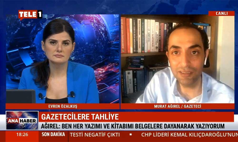 Gazeteci Murat Ağırel: Ergenekon, Kumpas davalarında yaşadığım sürecin aynısını yaşadım