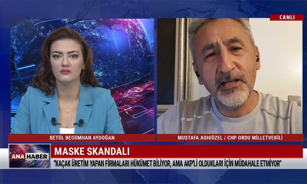 CHP'li Mustafa Adıgüzel: Piyasadaki 300'e yakın firmanın çoğunluğu koruyucu olmayan maske üretiyor