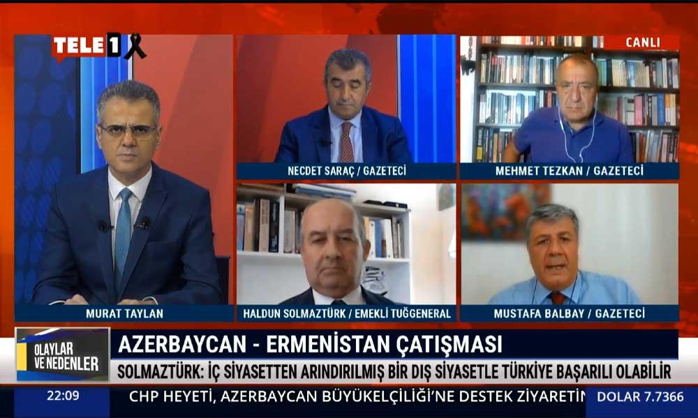 Gazeteci Mustafa Balbay: Önümüzdeki dönem Kafkaslar da orta doğulaşabilir