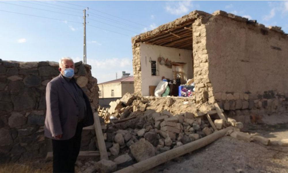 Niğde'deki depremde 143 ev hasar gördü!