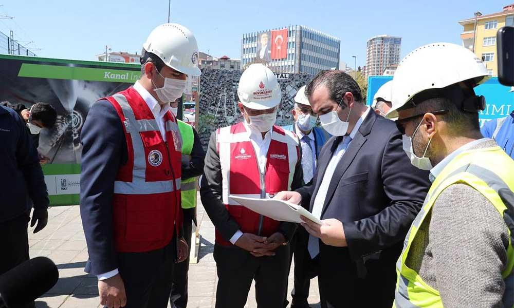 İBB ve Kartal Belediyesi'nin ortak çalışması ile 25 yıllık altyapı sorunu bir yılda çözüldü
