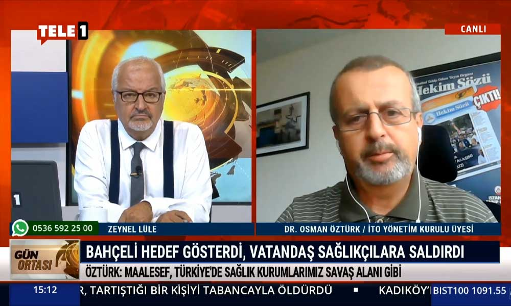 İTO Yönetim Kurulu üyesi Dr. Osman Öztürk: Kendimizi güvencesiz hissediyoruz