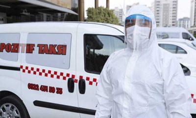 Adana'da koronavirüs hastalarına özel 'pozitif taksi'