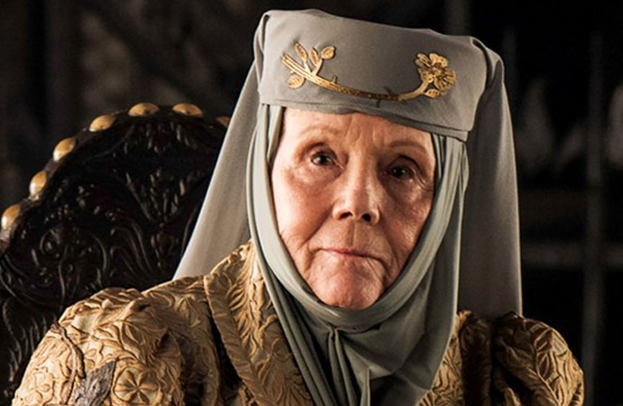 Game of Thrones'un Lady Tyrell'i  Diana Rigg yaşamını yitirdi
