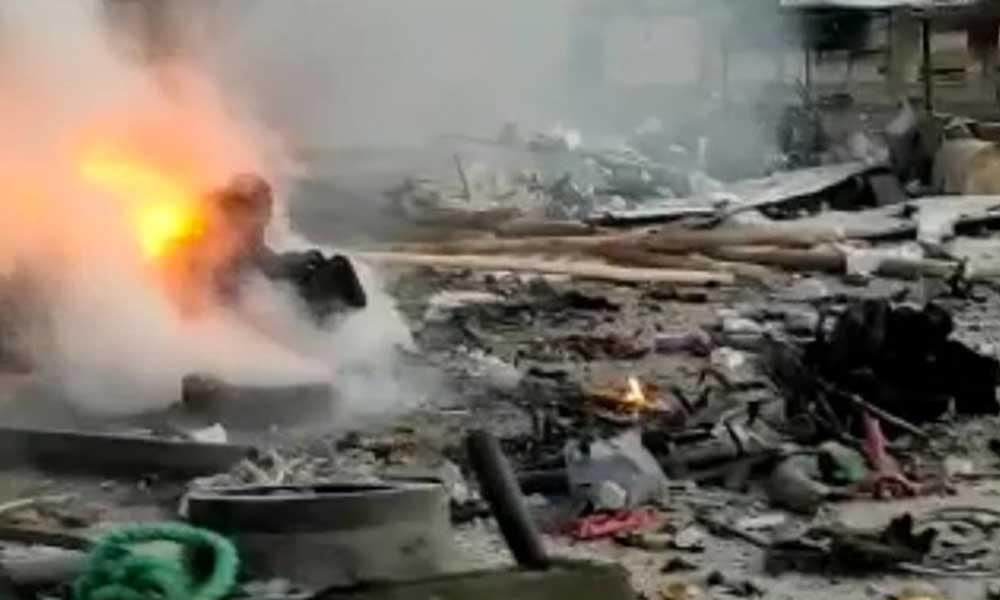 Rasulayn'da bomba yüklü araçla saldırı: Çok sayıda ölü ve yaralı var