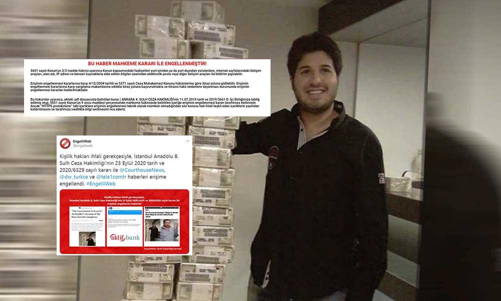 AKP'den kimsenin cevap dahi veremediği Sarraf haberlerine okurların erişimi engellendi!