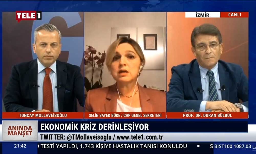 Selin Sayek Böke: Türkiye'de ortalama her evde 1 işsiz var