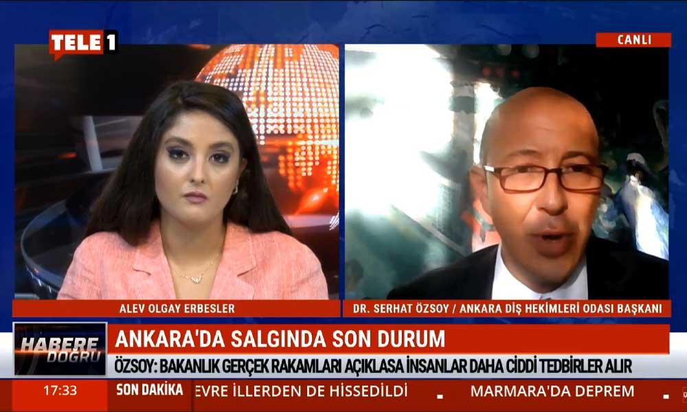 """""""Ankara'da günlük 3 bin ile 5 bin arası vaka var"""""""