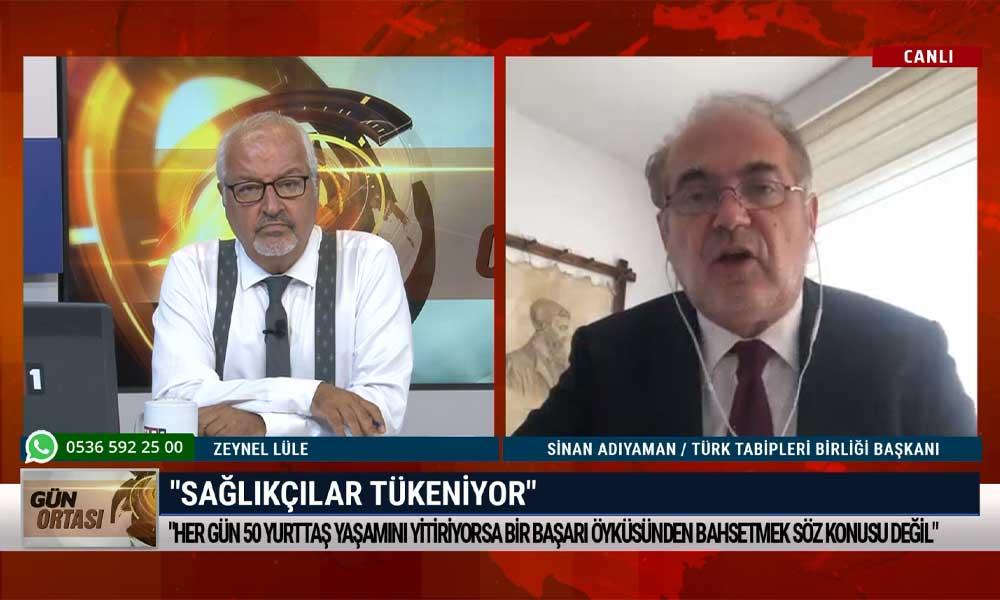 TTB Başkanı Adıyaman, Fahrettin Koca ile yaptığı görüşmeyi aktardı: Yönetemiyorsunuz, tükeniyoruz