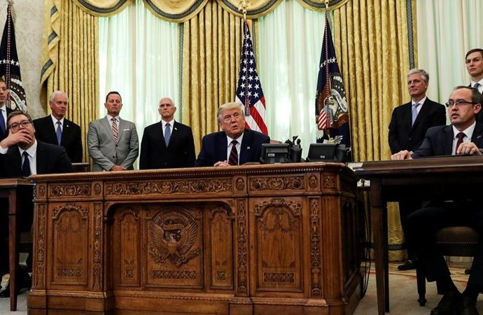Sırbistan'dan Trump'a büyükelçilik çıkışı!