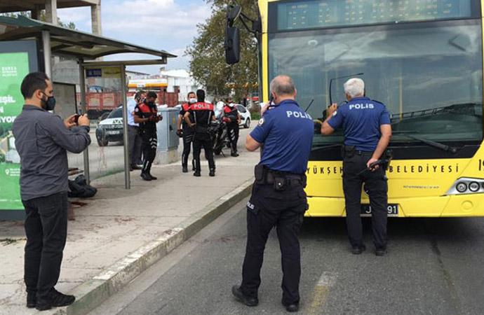 Maske tartışmasında yolcuyu bıçakladı
