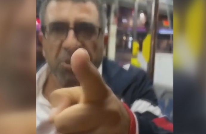 Kadın yolcuya saldıran şoförün lisansı askıya alındı!
