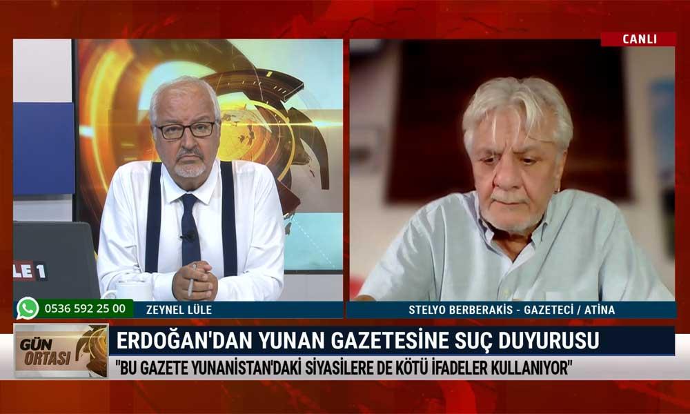Stelyo Berberakis: Çirkin eylemlerle provoke etmiş oluyorlar