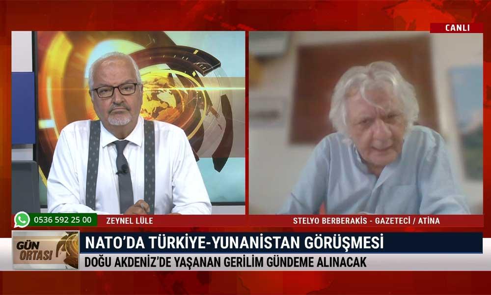 Stelyo Berberakis: Almanya, Türkiye ve Yunanistan'ı masaya oturtacağı bir formül arayışında