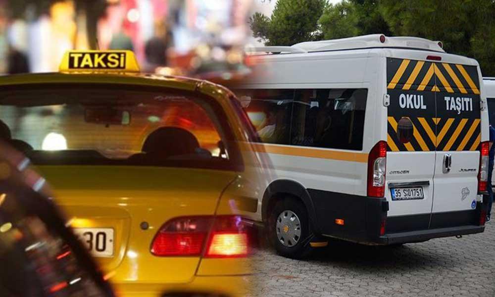 İBB el attı! Taksi ve serviste yeni dönem