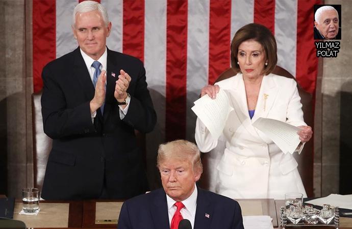 Temsilciler Meclisi Başkanı Pelosi'den Trump'a 'Türkiye'de değilsin'