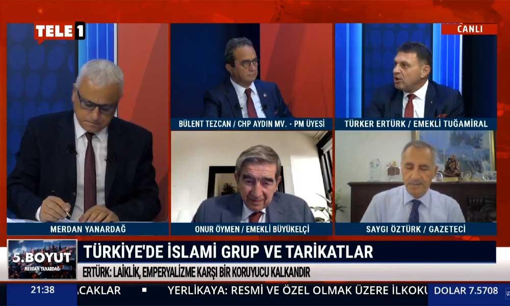 Emekli Tuğamiral Türker Ertürk: Tarikatların önü kesilmezse, Osmanlı'nın yaşadığı çöküşün benzerini görebiliriz