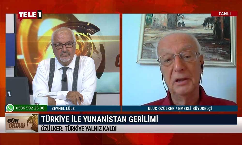 Emekli Büyükelçi Uluç Özülker: Türkiye kendi göbeğini kendi kesecek