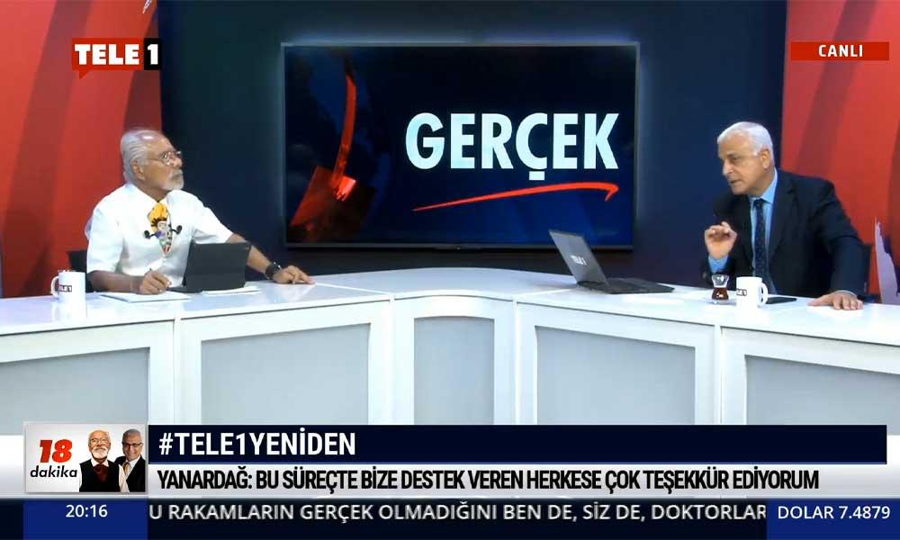 Merdan Yanardağ: RTÜK aslında cezayı TELE1'e değil, TELE1'i izleyen milyonlara verdi