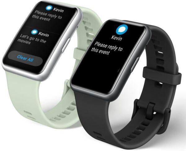 Huawei Watch Fit : Fitness tutkunlarına özel