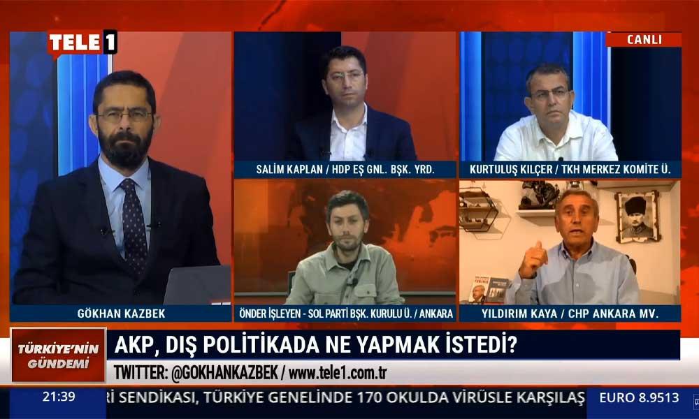 CHP'li Yıldırım Kaya: AKP, dış politikada ABD'nin yapmak istediği ne varsa onu yapmak istiyor