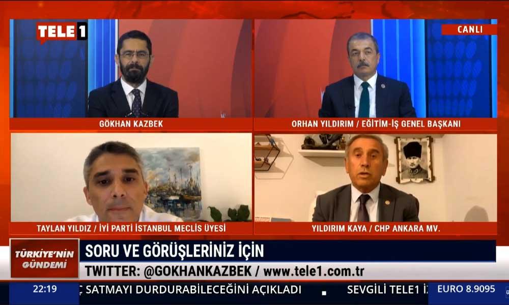 Yıldırım Kaya: AKP, Cumhuriyet'le hesaplaşmak için temeline 'dinamit' koydu