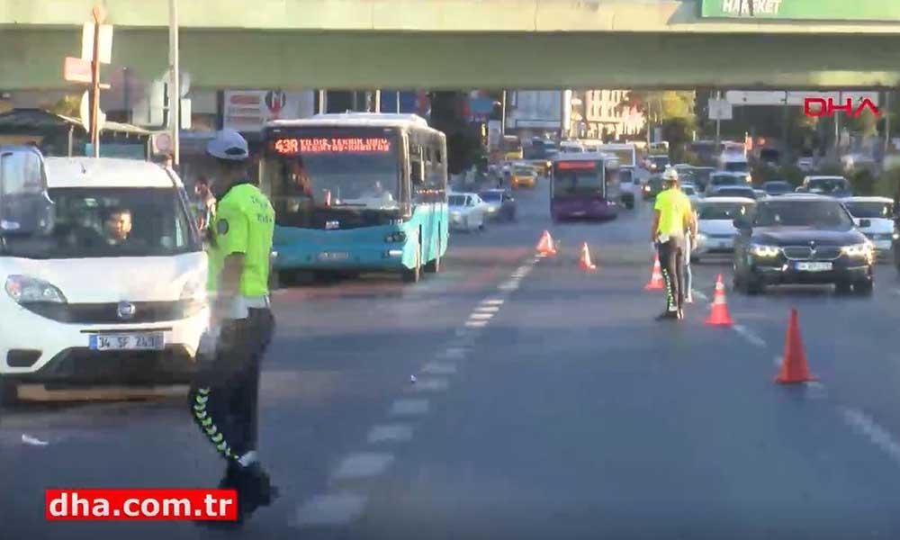 İstanbul'da tüm yollar kesildi