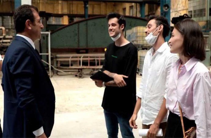 İBB Başkanı İmamoğlu, Youtuber gençlerle buluştu