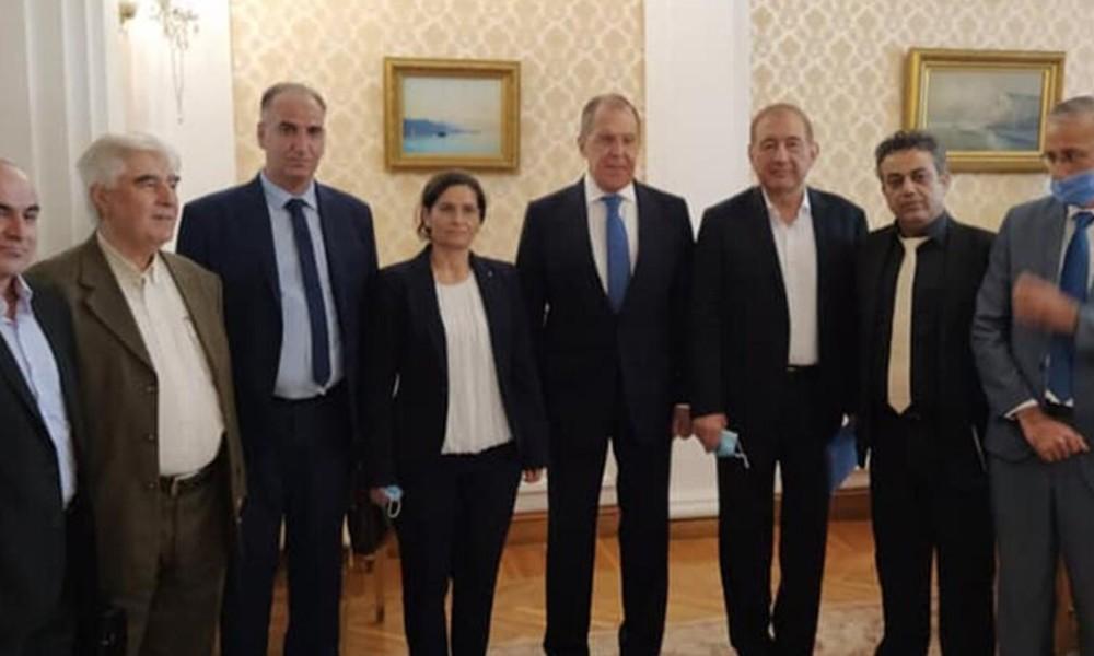 Türk heyeti Moskova'dayken Rusya YPG'yi ağırladı