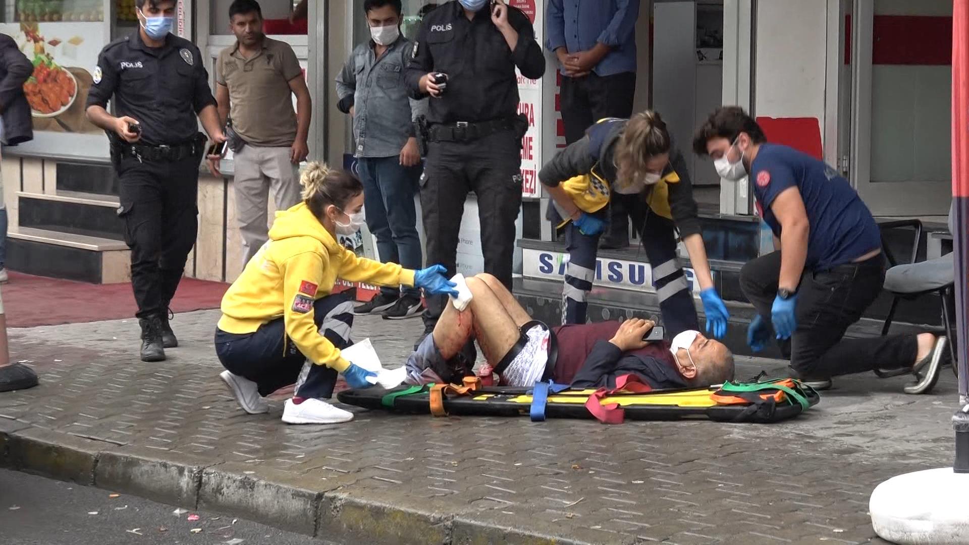 Arnavutköy'de silahlı saldırı, 1 yaralı