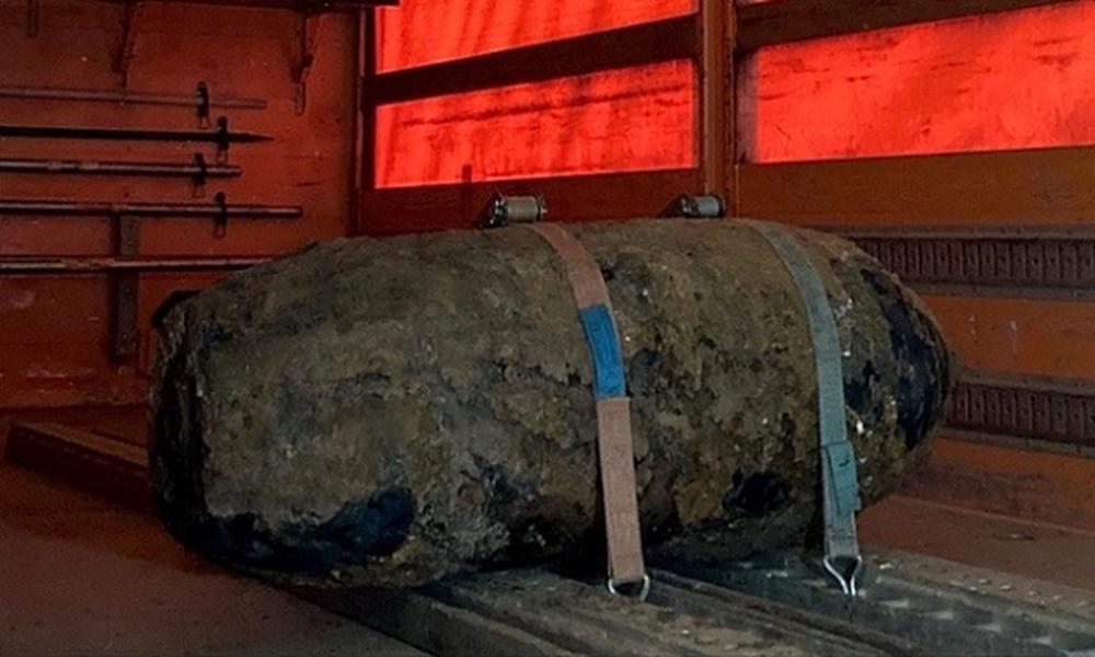 İkinci Dünya Savaşı'ndan kalma bomba imha edildi