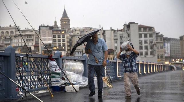 10 il için kuvvetli yağış uyarısı