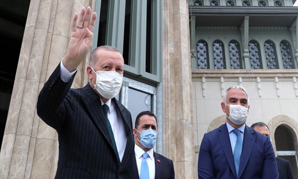 AKP'li Cumhurbaşkanı Erdoğan, Taksim Camii ve AKM Binası için açılış tarihi verdi