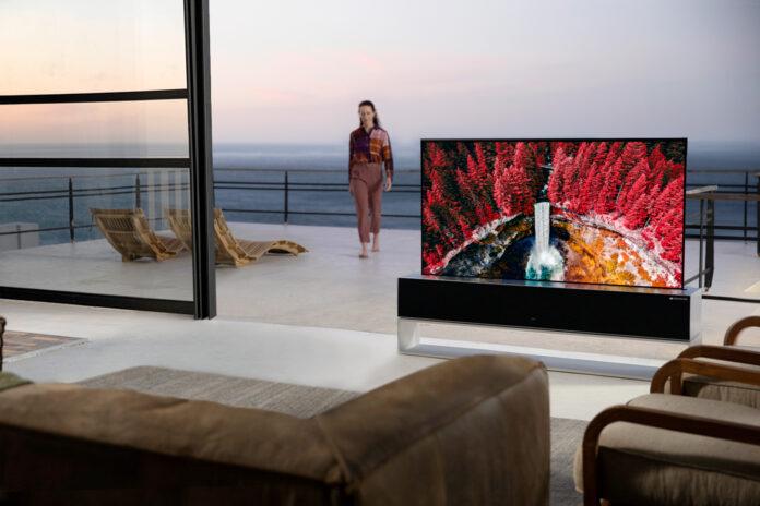 Kıvrılabilir LG SIGNATURE OLED R TV satışta