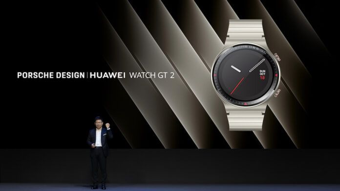 PORSCHE DESIGN HUAWEI WATCH GT 2 ortaya çıktı