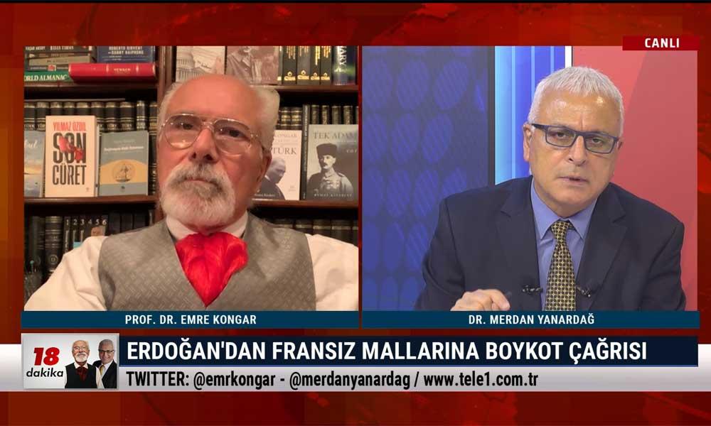 Merdan Yanardağ: Herkese FETÖ'cü demek serbest ama AKP'ye yasak