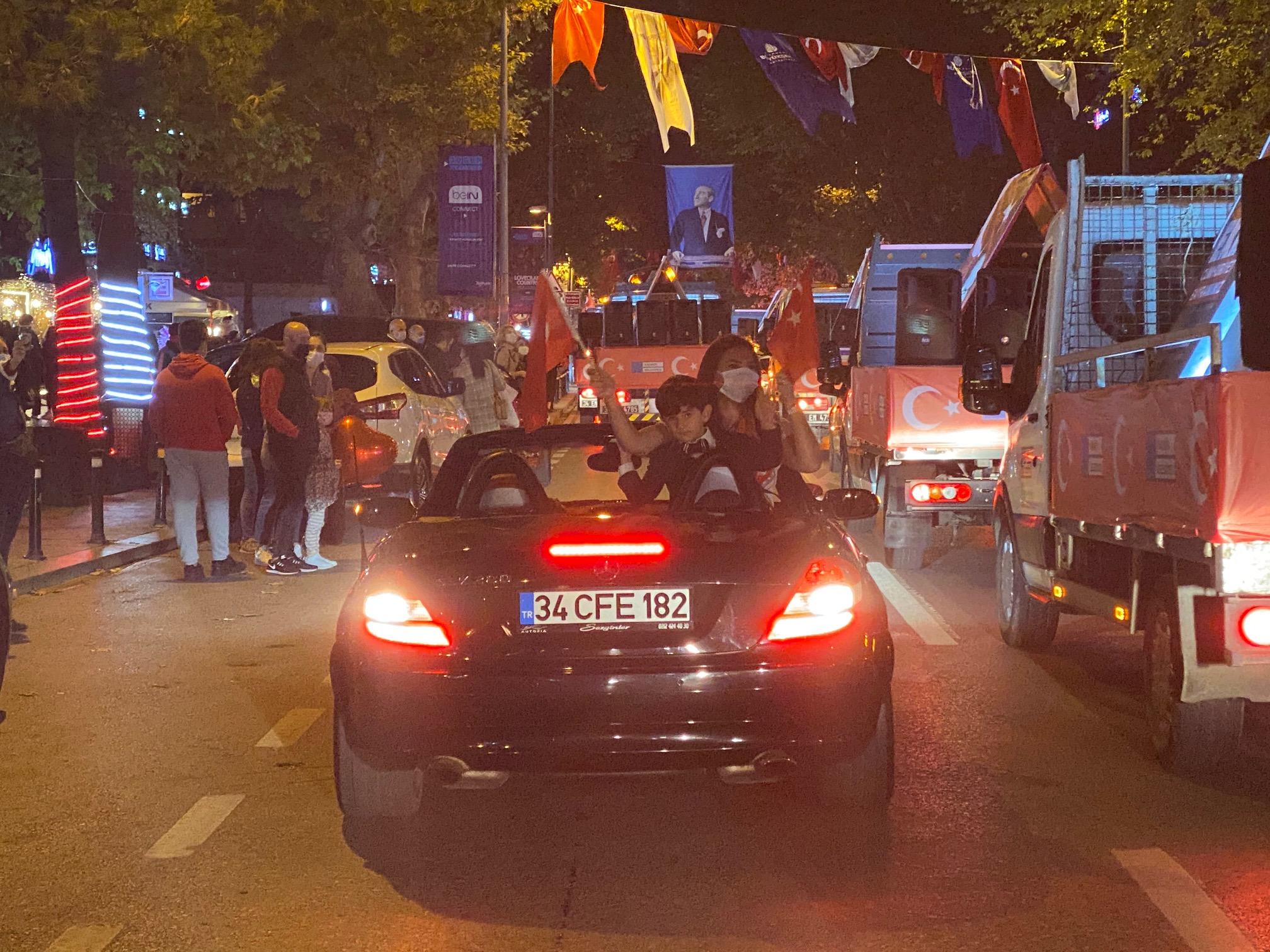 Kadıköy'de 29 Ekim coşkusu