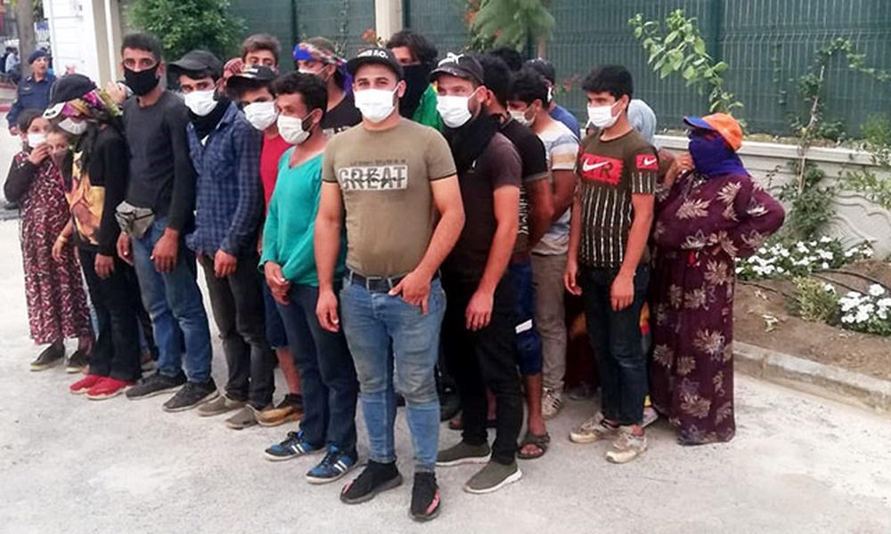 15 kişilik minibüsten 27 kişi çıktı: 23 bin lira ceza