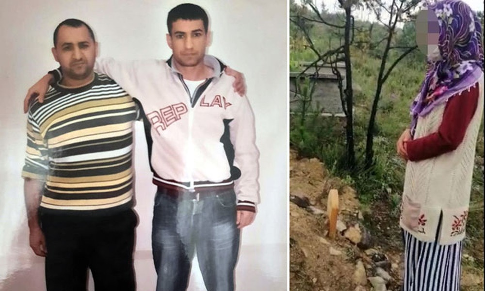 Eşini öldürtmekten aranan kadın, cinayeti mezarın başında itiraf etti