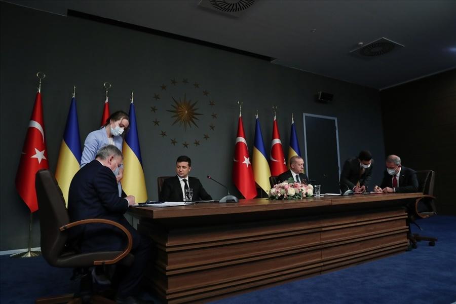 Türkiye ile Ukrayna arasında 'Askeri Çerçeve Anlaşması' imzalandı