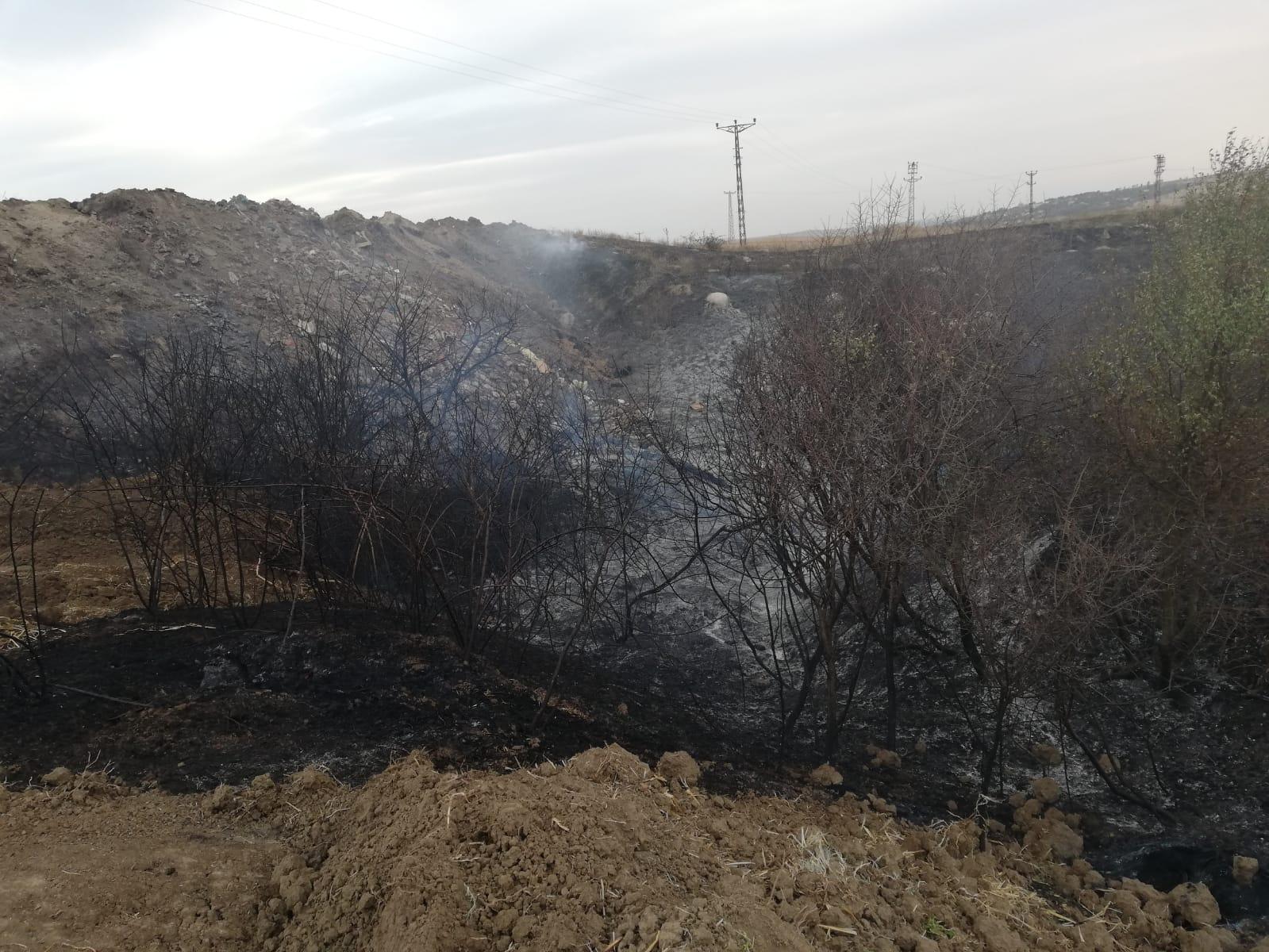 Malkara'da anız yangını çıktı, 2 bin dönüm arazi zarar gördü