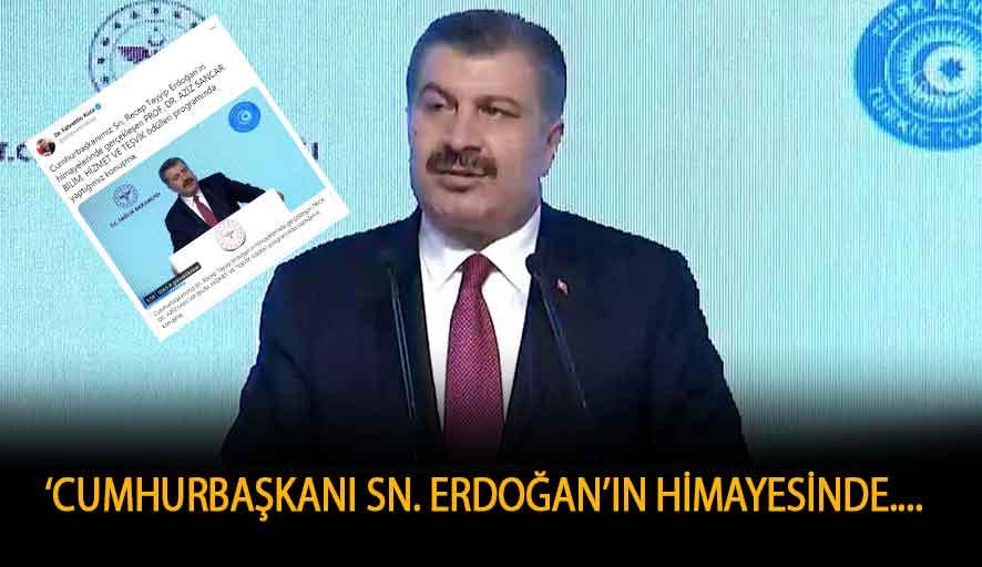 Himayeye muhtaç İzmirliler varken Sağlık Bakanı bu tweeti attı