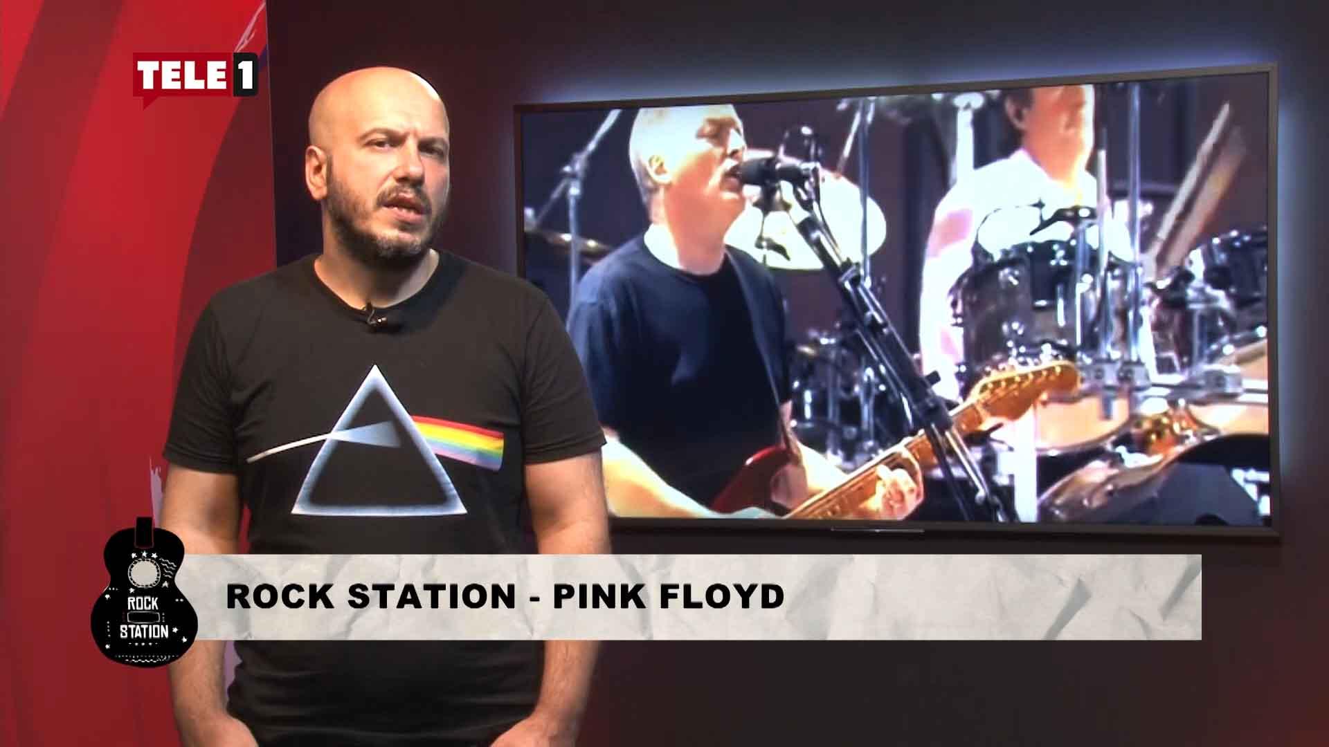 Rock station'un bu haftaki konuğu Pink Floyd oldu