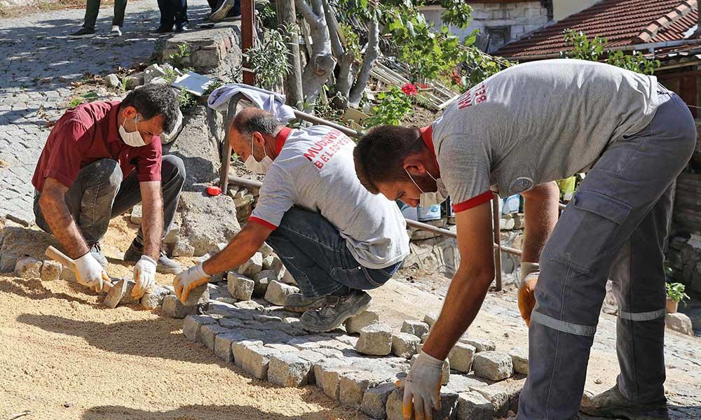 BUSKİ bozuyor, Mudanya Belediyesi yapıyor