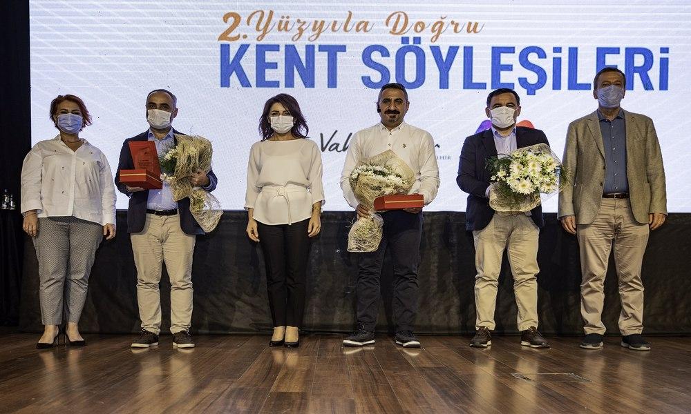 Mersin Büyükşehir Belediyesi üç gazeteciyi ağırladı