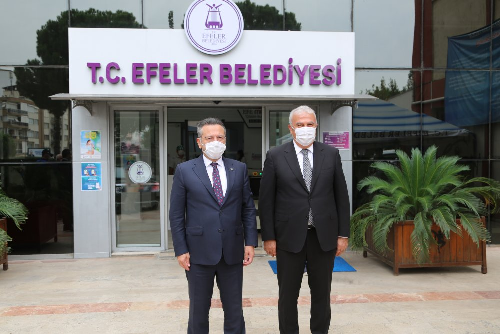Vali Aksoy'dan Başkan Atay'a iade-i ziyaret